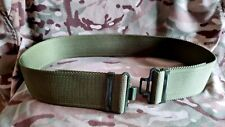 More details for army 95 working olive green belt quick release buckles cadets mod