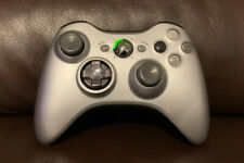 Official Microsoft Xbox 360 Silver Wireless Controller Genuine Original OEM