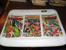 Inhumans Lot of 3 books #4 #5 and #12 NO STOCK PHOTOS