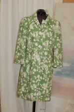 Ann Taylor Loft Green Women's Light Jacket Linen/Rayon Button Down Sz 4 $139.00