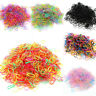 1100pcs/lot Mini Small Elastic Hair Bands Girls Rubber Ropes Hair Accessories
