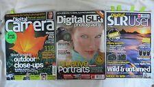 3 x Back Issues of Digital Photography Magazines Job Lot