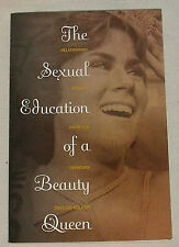 The Sexual Education Of a Beauty Queen Taylor Marsh Paperback SIGNED Autographed