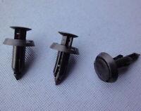10x Clips Stoßstange Befestigung Klips Halter universal 6mm schwarz 019