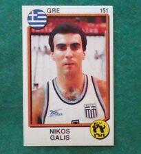 Sticker Figurina Adesivo Panini Supersport NIKOS GALIS n.151 basket 1988 RARA!