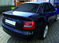Audi A4 S4 RS4 B5 Euro Roof Extension Rear Window Cover Spoiler Wing Trim ABS -