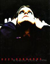 OZZY OSBOURNE 1996 OZZMOSIS TOUR CONCERT PROGRAM BOOK