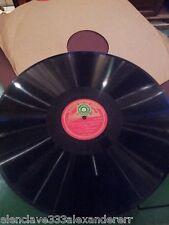 DISCO PIZARRA La Voz de su amo GRAMOFONO 78 SONATA PARA VIOLIN 1 Sol menor Bach