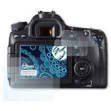Bruni 2x Schermfolie voor Canon EOS 70D Screen Protector Displaybeveiliging