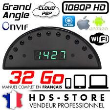 RVLIP1 RÉVEIL CAMERA ESPION IP WIFI FULL HD 1080P + MICRO SD 32 GO INFRAROUGE