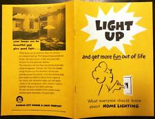 LIGHTING BOOK (KC, 1964): LIGHT UP What Everyone Should Know About Home Lighting