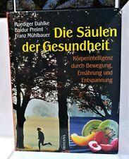 Die Säulen der Gesundheit - Dahlke Preiml Mühlbauer (geb. Buch neuwertig)