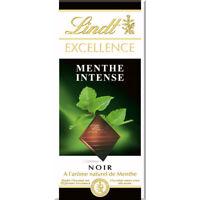 Lindt Excellence Tablet Mint Intense Original Swiss Chocolate 100G