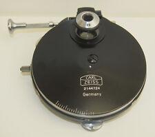 Zeiss Phase Contrast Turret Condenser w/ 0.9NA Flip Lens Ph1, Ph2, Ph3