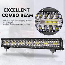 20Inch 140LED 420W 42000LM Off-road Work Light Fog Lamp Flood Spot LED Light Bar