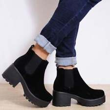 Unbranded Pull On 100% Leather Boots for Women