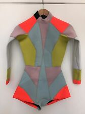 BNWT CYNTHIA ROWLEY COLOUR BLOCK WETSUIT NEOPRENE MULTI RRP 153 SIZE XS