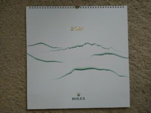 Genuine Rolex 2021 Wall Calendar - New unused