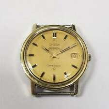 Vintage Omega Gold Tone Constellation Date 24J Automatic Watch Head 564 OMA5