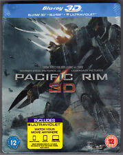 PACIFIC RIM 3D & 2D 3-DISC BLU-RAY STEELBOOK NEU & OVP SEALED SOLD OUT