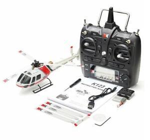 Wltoys XK AS350 K123 6CH 3D 6G Brushless Motor RC Helicopter/ Transmitter