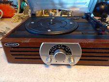 Jensen JTA-222 record player & radio