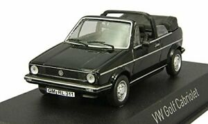 Volkswagen VW Golf Cabriolet 1981 Black 1:43 Model 840074 NOREV