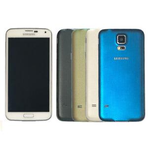 Samsung Galaxy S5 SM-G900F 16 Go LTE (Débloqué) Andorid Smartphone Noir Blanc Or