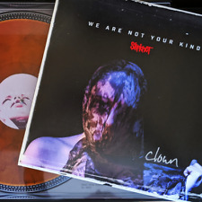 """Slipknot """"We Are Not Your Kind""""  Whiskey Color Vinyl Signed"""