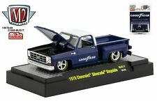 M2 ** MiJo Exclusive GOODYEAR 1979 Chevy Silverado *Step Side *1 Of 3600*1:64