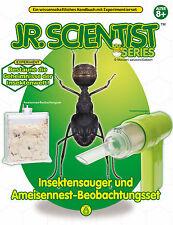 Experimentierkasten Insektensauger Ameisenstadt mit tollem Anleitungsbuch NEU