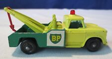 1960's Matchbox Lesney #13 Dodge BP Wrecker Tow Truck White label