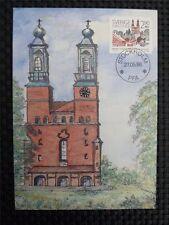 SCHWEDEN MK KIRCHE CHURCH MAXIMUMKARTE CARTE MAXIMUM CARD MC CM c3293