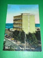 Cartolina Milano Marittima - Hotel Delfino Verde 1960