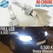 Kit Anabbaglianti LED H7 Bmw SERIE 1 E87 Lampade luci CANBUS 6500K msport tuning