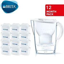 Brita Marella Cool Maxtra + 2.4 L Carafe filtrante + 12 mois Cartouches Année pack