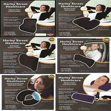 Harley Street Memory Foam Seat Cushion,Car,Orthopaedic,Cool Gel,Half Moon,Lumbar