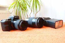 Sony Alpha A200 l 2x Objektiv und XXL EXTRAS SET l DSLR Spiegelreflex Kamera 1