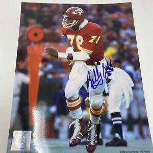Bobby Bell Kansas City Chiefs Signed 8x10 Photo Autograph Auto
