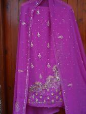 INDIAN PUNJABI UNSTITCHED SALWAR KAMEEZ SUIT PARTY WEDDING WEAR SUIT