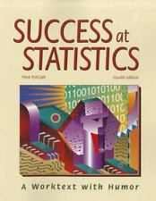 Success at Statistics: A Worktext with Humor by Pyrczak, Fred