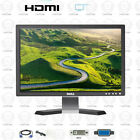 """Dell UltraSharp 19"""" inch Wide HDMI Desktop Computer PC LCD Monitor With cables"""