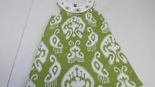 GYMBOREE Batik Summer Green/White Embroidery & Gem Dress Size 5 NWT TL2