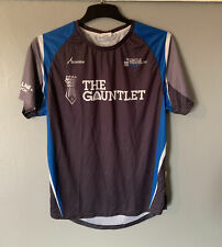 New listing Scimitar Cycling/walking Jersey Top Size Large In Grey/blue (castle Triathlon)
