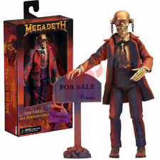 "NECA Megadeth Peace Sells Vic Rattlehead 8"" Clothed Action Figure 2019 New"