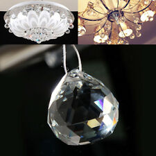 Chandelier Ball Drop Crystal Glass Lamp Pendant Loose Spacer Bead Clear LIAU