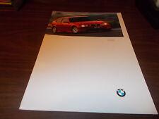 1997 BMW 318ti 28-page Sales Catalog