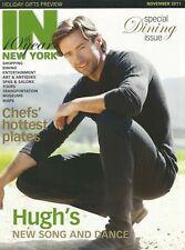 HUGH JACKMAN was THE BOY FROM OZ rare OUT-OF-PRINT magazine Nov.2011 with photos
