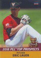 2018 Pacific Coast League Top Prospects PCL Eric Lauer RC Rookie Padres
