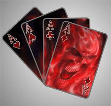 1 Teufel Style Aufkleber Sticker Spielkarte Sticker Bomb Shocker Autoaufkleber F